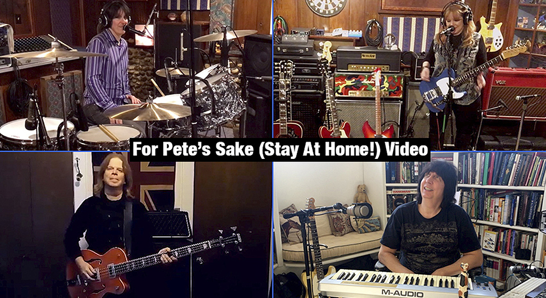 For Pete's Sake (Stay At Home) Video