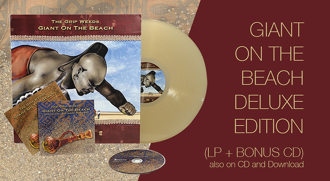 GIANT ON THE BEACH DELUXE EDITION (LP + BONUS CD) also on CD and download