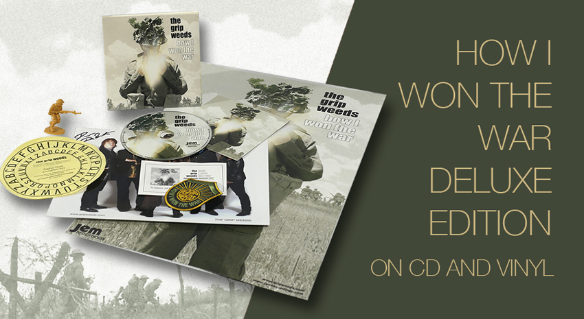 HOW I WON THE WAR DELUXE EDITIONM on CD and vinly