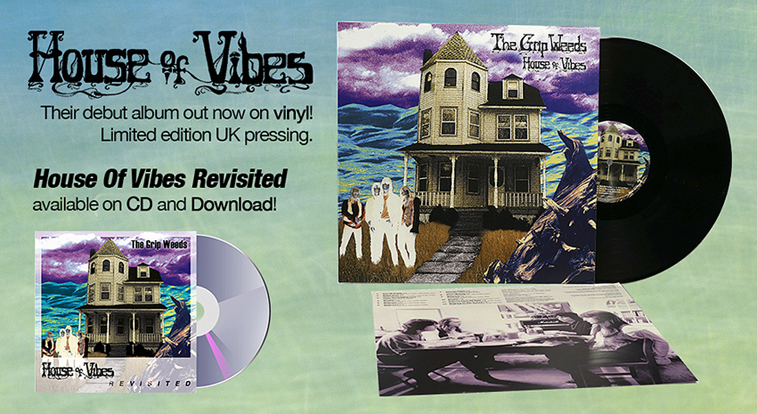 House of Vibes - Their debut album out now on vinly!